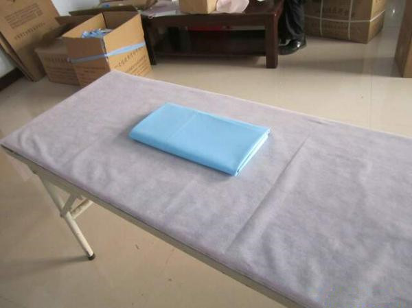 ... China Medicine Disposable Products Machines , Non Woven Disposable Bed  Sheet Folding Machine For Sale