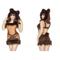 China Cute Bodacious Bear Adult Party Costumes Clubwear  For Native American Indian on sale
