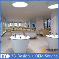 Buy cheap mobile phone shop decoration showcase cell phone store design from wholesalers