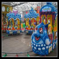 Buy cheap electric track train under sea world train ride for sale from wholesalers