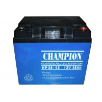 Buy cheap China Champion UPS Battery 12V38Ah NP38-12 Lead Acid AGM Battery VRLA Battery, SLA Battery from Wholesalers