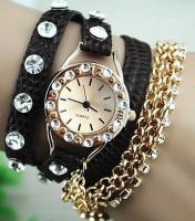 Buy cheap New Arrival Rhinestone Bracelet Design Watch Ladies Watch Fashion Woman Watch from Wholesalers