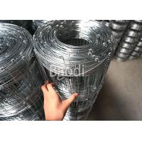 Buy cheap Galvanized Metal Wire Woven Field Fence Rolls 6