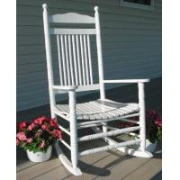 China Outdoor White Slat Rocker-- Rocking Chair on sale