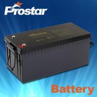 Buy cheap Deep cycle solar batteries 12V 210AH GPD210-12 from Wholesalers