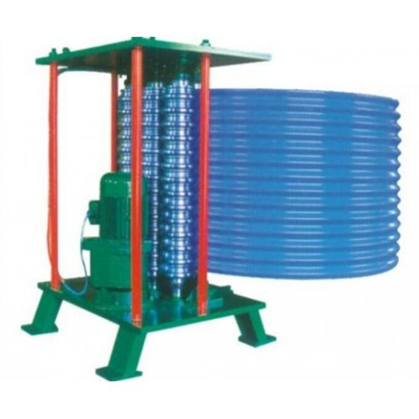 Colored Steel Roll Forming Production Line , Sheet Metal Bending ...