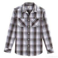 Buy cheap Men's Twin Pocket Plaid Casual Shirt (check Shirts) from wholesalers