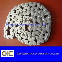 40Mn CD70 Transmission Spare Parts / Motorcycle Sprocket Chain