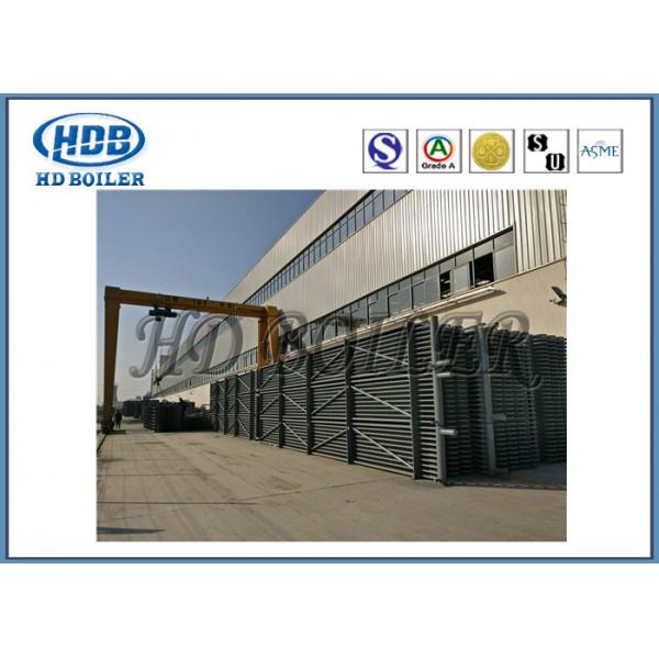 H Type Steel Condensing Heat Exchanger Economizer For Boiler With ...