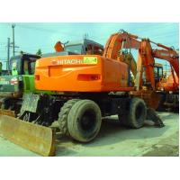 USED HITACHI ZX130W WHEEL EXCAVATOR FOR SALE ORIGINAL JAPAN HITACHI ZX130W FOR for sale