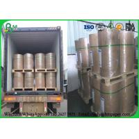Buy cheap 100% Virgin 889mm 80g Uncoated Printing Paper , Jumbo Roll Inkjet Printing Paper from Wholesalers