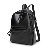 Buy cheap 2017 Design PU Leather Women Backpacks For Teenage Girls School Bags Black Summer Vintage Backpack Mochilas Mujer from Wholesalers