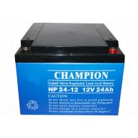 Buy cheap China Champion UPS Battery 12V24Ah NP24-12 Lead Acid AGM Battery VRLA Battery, SLA Battery from Wholesalers