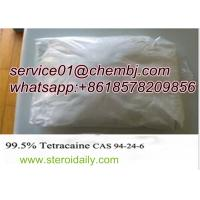 Buy cheap Local Anaesthetic Drugs Tetracaine with High Purity CAS 94-24-6 from Wholesalers