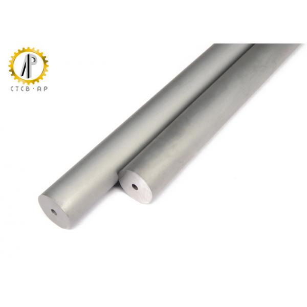 Tungsten Carbide Bar Stock : Cemented tungsten carbide rod with single central straight