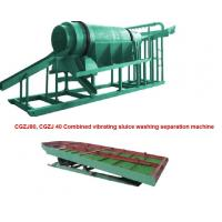 Buy cheap Combined Vibrating Sluice Washing Separation Machine from Wholesalers