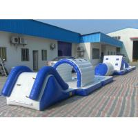 Buy cheap Eco Friendly Inflatable Water Toys Tear Resistant Bouncy Obstacle Course from Wholesalers