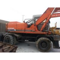 EX160WD USED HITACHI EX160WD WHEEL EXCAVATOR FOR SALE ORIGINAL JAPAN for sale