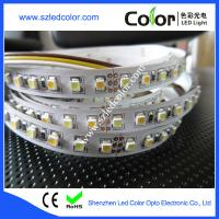 Buy cheap 3528 warm and white color cct dimmable led strip from Wholesalers