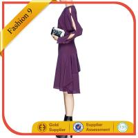 Buy cheap SPLIT BUTTON SLEEVE Chiffon DRESS from Wholesalers