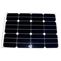 Buy cheap Bending Thin Film RV Flexible Solar Panels , 30W 12V Solar Panels For RV Campers from Wholesalers