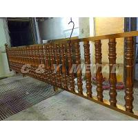 Buy cheap 304 stainless steel railing,polished finish surface, rose-gold colors and anti-fingerprint from Wholesalers
