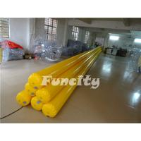 Buy cheap Yellow Inflatable Water Toys Inflatable Water Tube / Water Buoys / Water Enclosure from Wholesalers