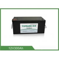 China 12V 300AH Lifepo4 Ev Battery Pack , Ups Backup Battery High Capacity on sale