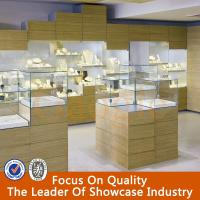 Buy cheap high quality jewellery showroom designs/jewellery counter display/jewellery showcase from Wholesalers