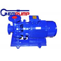 Buy cheap Low speed Inline Water Booster Pump ISW Horizontal Pipe ≤ 1.6Mpa Maximum working pressure from Wholesalers