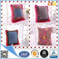 China Customized Outdoor Cushion Covers , Sofa Seat Cushion Cover With Polyster + Cotton on sale