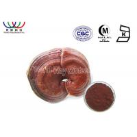 Buy cheap Red Reishi Mushroom Extract Lower Blood Pressure Pharmaceutical Grade from Wholesalers