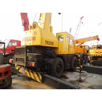 USED TADANO TR250M-5 ROUGH TERRAIN CRANE SALE for sale