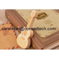 Buy cheap USB Flash Drive Wooden Guitar Pen Drive Maple Wood Pendrives Memory Stick from wholesalers