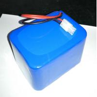 Buy cheap 12.8V LiFePO4 26650 10Ah battery pack including PCM light solar UPS from wholesalers