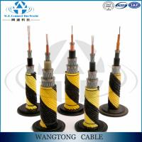 Buy cheap double sheath outdoor GYFTA53 24 core multi core underwater optical fiber cable from wholesalers