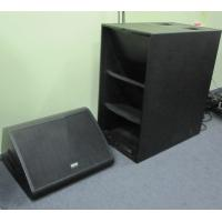 China Horn Loaded Subwoofer for Line Array Pro Audio Speakers For Outdoor Event factory