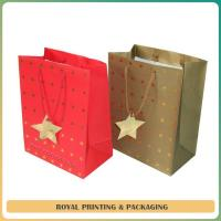 China customize colorful paper gift bag printing