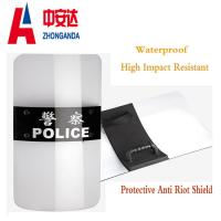 Buy cheap Customize Size Transparent Riot Shield Safety For Military Police Security Protection from Wholesalers