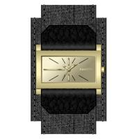 Rectangle Unisex Woman's Wrist Watch , 2 Layer Dial Fashionable Watches For Women