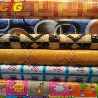 China Multi Color Printing Waterproof PVC Floor Covering 0.35 - 1.2mm Thickness on sale