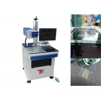 Buy cheap Air Cooling Co2 Laser Marking Machine / Laser Glass Printer For Non Metallic from Wholesalers