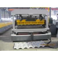 Professional Trapezoidal Roof Tile Roll Forming Machine 45# Steel