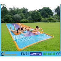 Buy cheap Easy Set Up Inflatable Slip N Slide PVC Silk Screen Printing Large Diameter 16' from Wholesalers