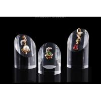 Buy cheap Elegant Acrylic Display Stands Anti Corrosive Plexiglass Cosmetic Ring Stand from Wholesalers