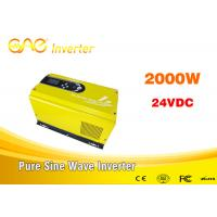 China off grid solar inverter single phase pure sine wave dc ac 24vdc to 240v inverter generator 2000w on sale