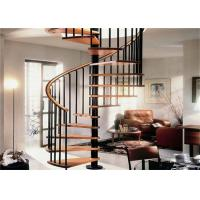 Buy cheap Contemporary Loft Spiral Staircase , Steel And Wood Prefabricated Spiral Staircases from wholesalers