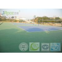 Buy cheap Olympic Tennis Court Surface , PU Sports Flooring Anti Slippery Sound Reduction from Wholesalers