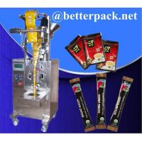 Quality Instant coffee packaging machine 3 in 1 coffee packs machine for sale