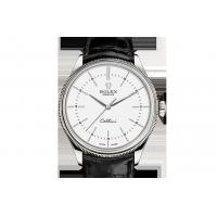 Buy cheap Buy Newest Rolex  Cellini Time Cellini Collection 39 mm, 18 ct white gold, polished finish 50509 Watches Sale from Wholesalers